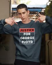 Justice for George Floyd Crewneck Sweatshirt apparel-crewneck-sweatshirt-lifestyle-04