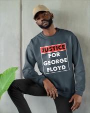 Justice for George Floyd Crewneck Sweatshirt apparel-crewneck-sweatshirt-lifestyle-front-08