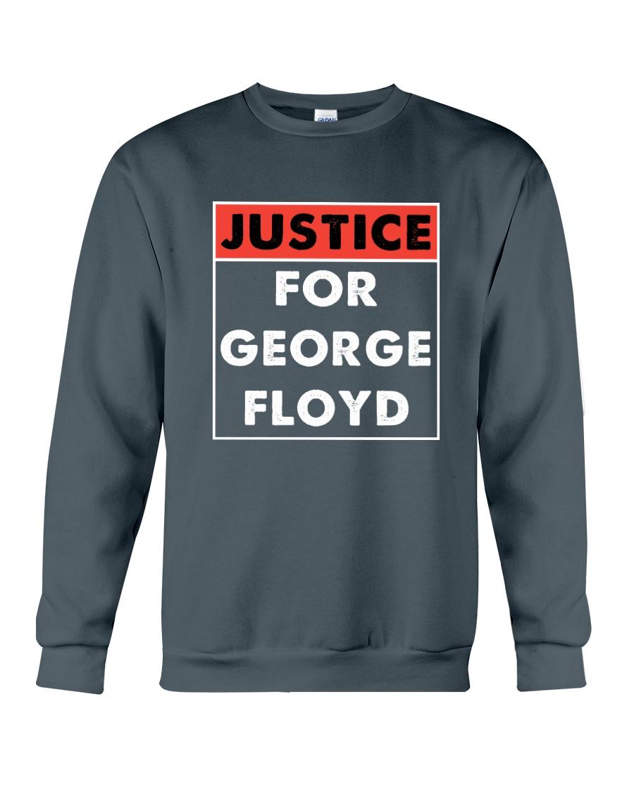 Justice for George Floyd Crewneck Sweatshirt