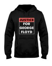 Justice for George Floyd Hooded Sweatshirt thumbnail