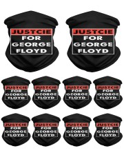 Justice for George Floyd Neck Gaiter - 10 Pack thumbnail