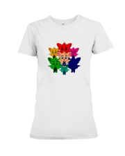 Live In Color - Tommy the Tomato Bat Line Premium Fit Ladies Tee thumbnail