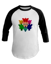 Live In Color - Tommy the Tomato Bat Line Baseball Tee thumbnail