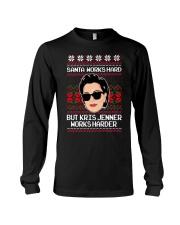 Kris Jenner Christmas sweater Long Sleeve Tee thumbnail