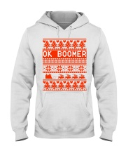Ok Boomer Christmas sweater Hooded Sweatshirt thumbnail
