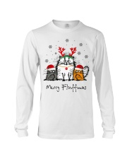 Cat Merry Fluffmas Christmas sweatshirt Long Sleeve Tee thumbnail