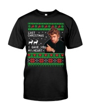 George Michael Last Christmas I gave you sweater Classic T-Shirt front