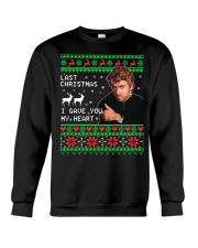 George Michael Last Christmas I gave you sweater Crewneck Sweatshirt thumbnail