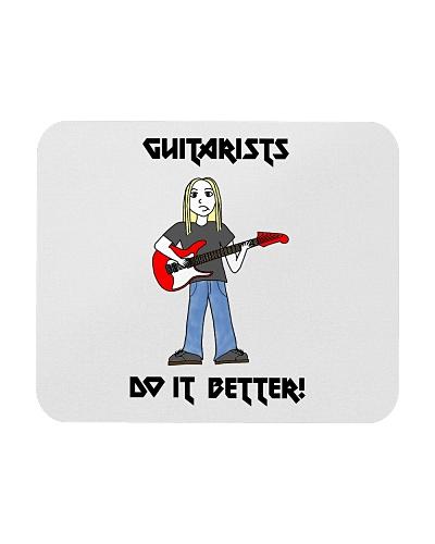 Guitarists Do It Better