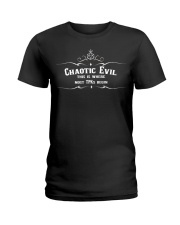 Chaotic Evil - DnD alignment Ladies T-Shirt thumbnail