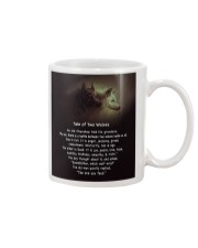 TALE OF TWO WOLVES Mug thumbnail
