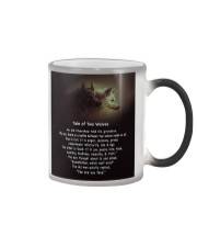 TALE OF TWO WOLVES Color Changing Mug thumbnail