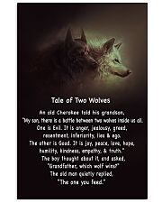 TALE OF TWO WOLVES 11x17 Poster front