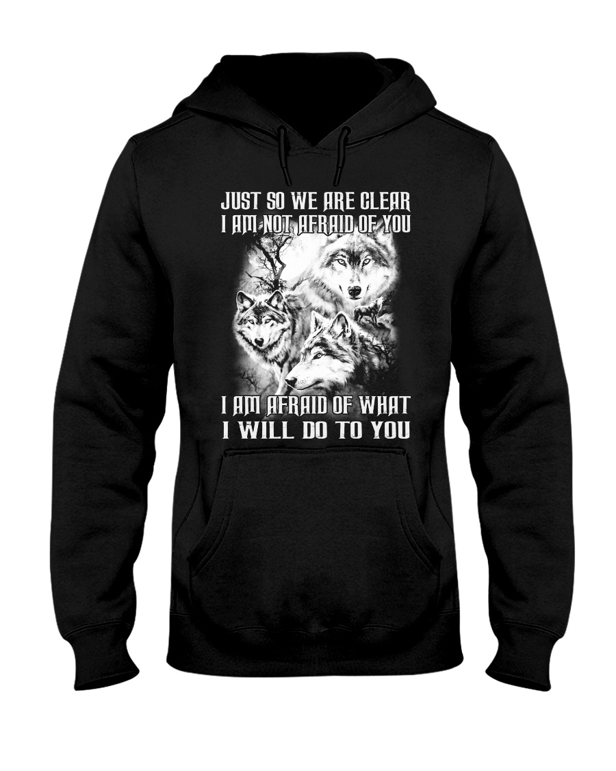 LOVE WOLVES - LIMITED EDITION Hooded Sweatshirt
