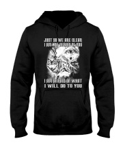 LOVE WOLVES - LIMITED EDITION Hooded Sweatshirt front