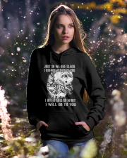 LOVE WOLVES - LIMITED EDITION Hooded Sweatshirt lifestyle-holiday-hoodie-front-5