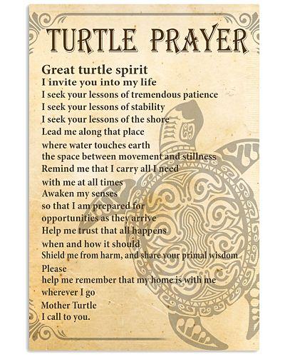 LIMITED EDITION - TURTLE PRAYER