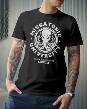 Miskatonic University Classic T-Shirt lifestyle-mens-crewneck-front-6