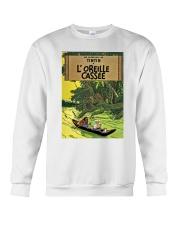 Tintin in Forest Crewneck Sweatshirt thumbnail