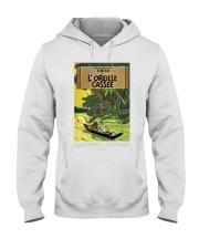 Tintin in Forest Hooded Sweatshirt thumbnail
