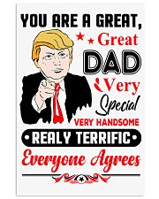 GREAT DAD MUG 11x17 Poster thumbnail