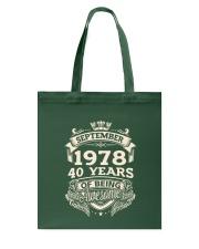 September 1978 Tote Bag tile