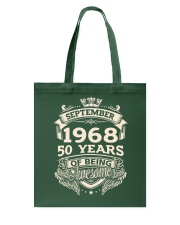 September 1968 Tote Bag tile