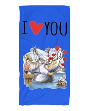 Beach Towel for  Sailing Fans  Beach Towel front
