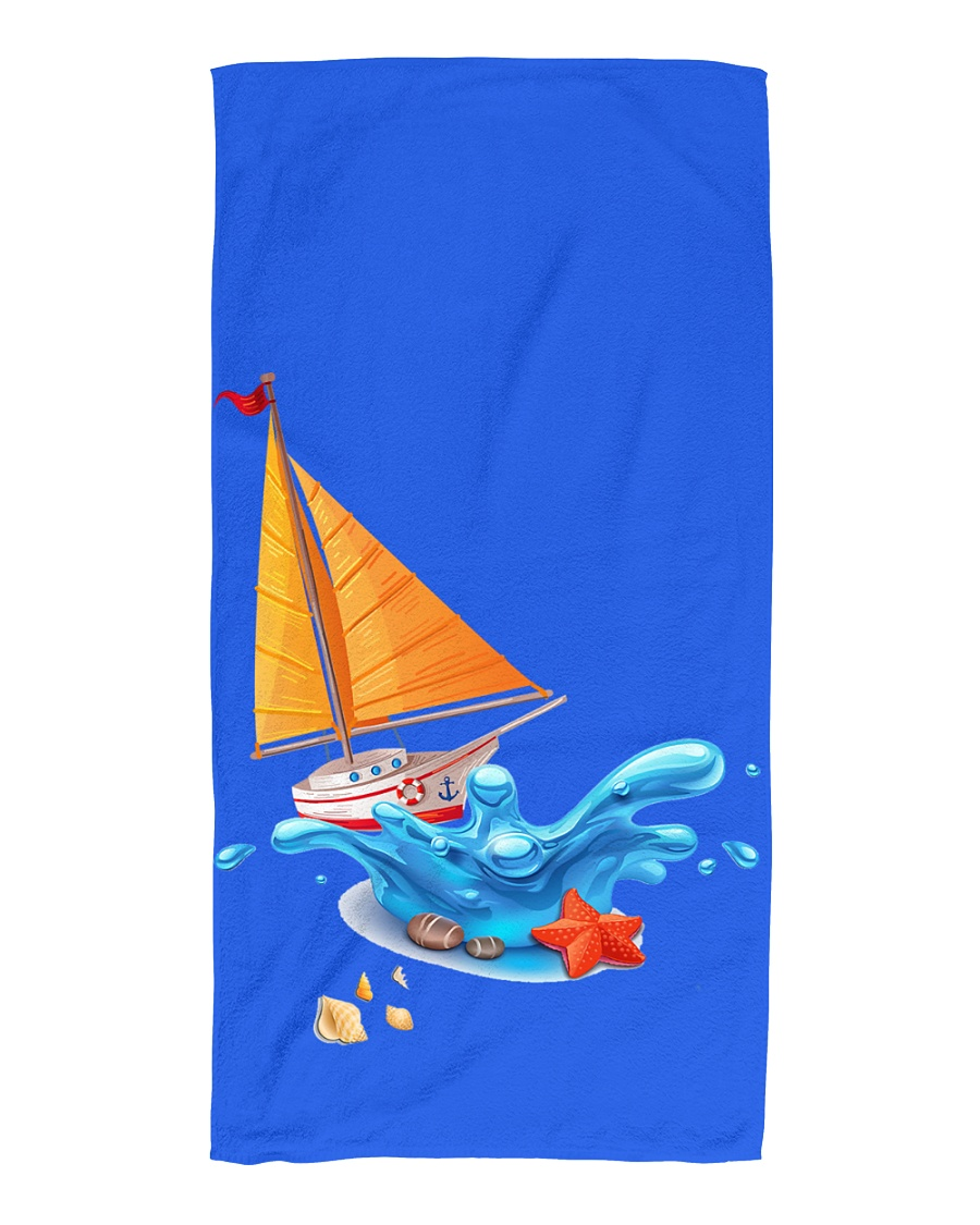 Shop Sailboat Beach Towel for seaside or Sailing Beach Towel