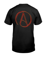 Atheist T-Shirts -  Atheist Symbol  Classic T-Shirt back