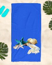High-quality Beach Towels Custom Design  Beach Towel aos-towelbeach-vertical-front-lifestyle-2