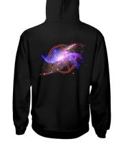 Atheist shirts -  Atheist Symbol - Universe  Hooded Sweatshirt back