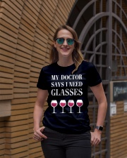 My Doctor Says Ladies T-Shirt lifestyle-women-crewneck-front-2