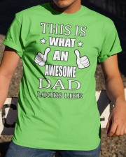 My Awesome Dad Classic T-Shirt apparel-classic-tshirt-lifestyle-28