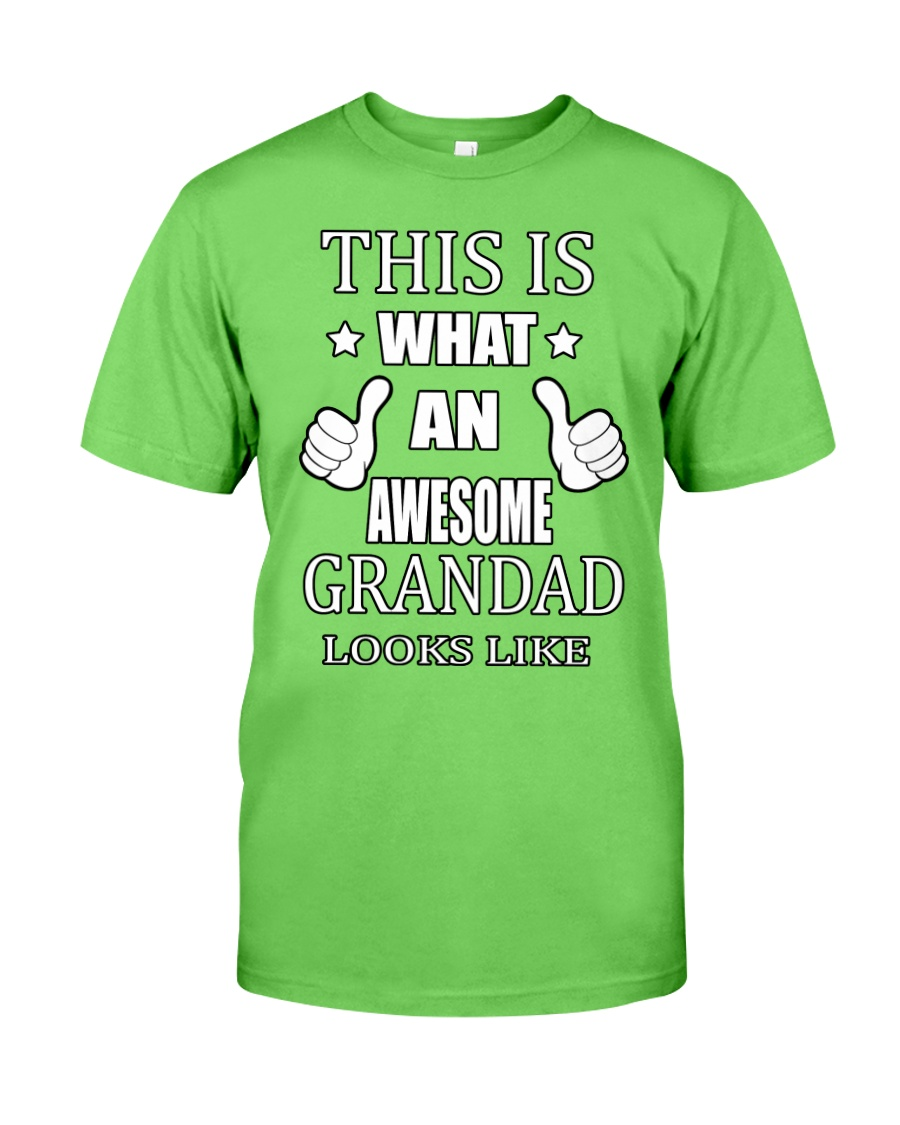 My Awesome Grandad Classic T-Shirt