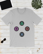 playing buttons design Premium Fit Mens Tee lifestyle-mens-crewneck-front-17