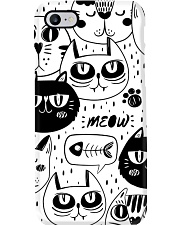 black cats meow Phone Case thumbnail