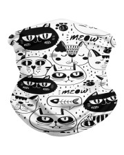 black cats meow Neck Gaiter thumbnail