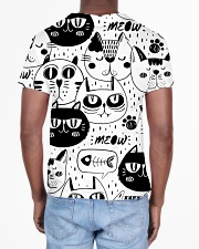 black cats meow All-over T-Shirt aos-all-over-T-shirt-lifestyle-back-02
