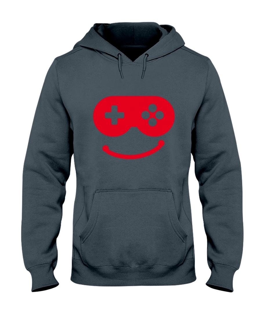 joystick smail Hooded Sweatshirt