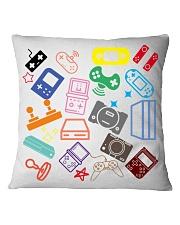 consoles gaming design Square Pillowcase thumbnail