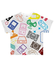 consoles gaming design All-Over T-Shirt tile