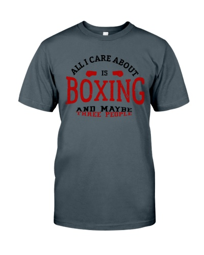 All I Care Is Boxing And Maybe Three Other People