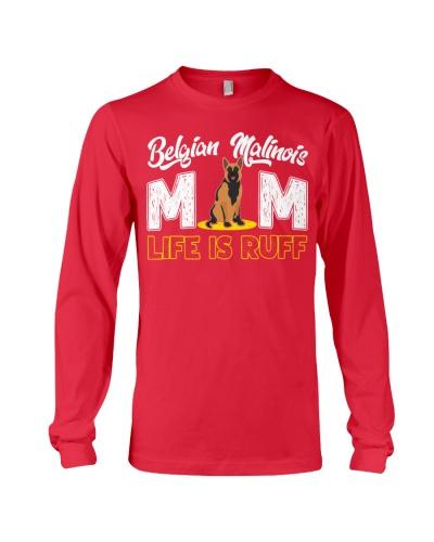 Belgian malinois mom life is ruff
