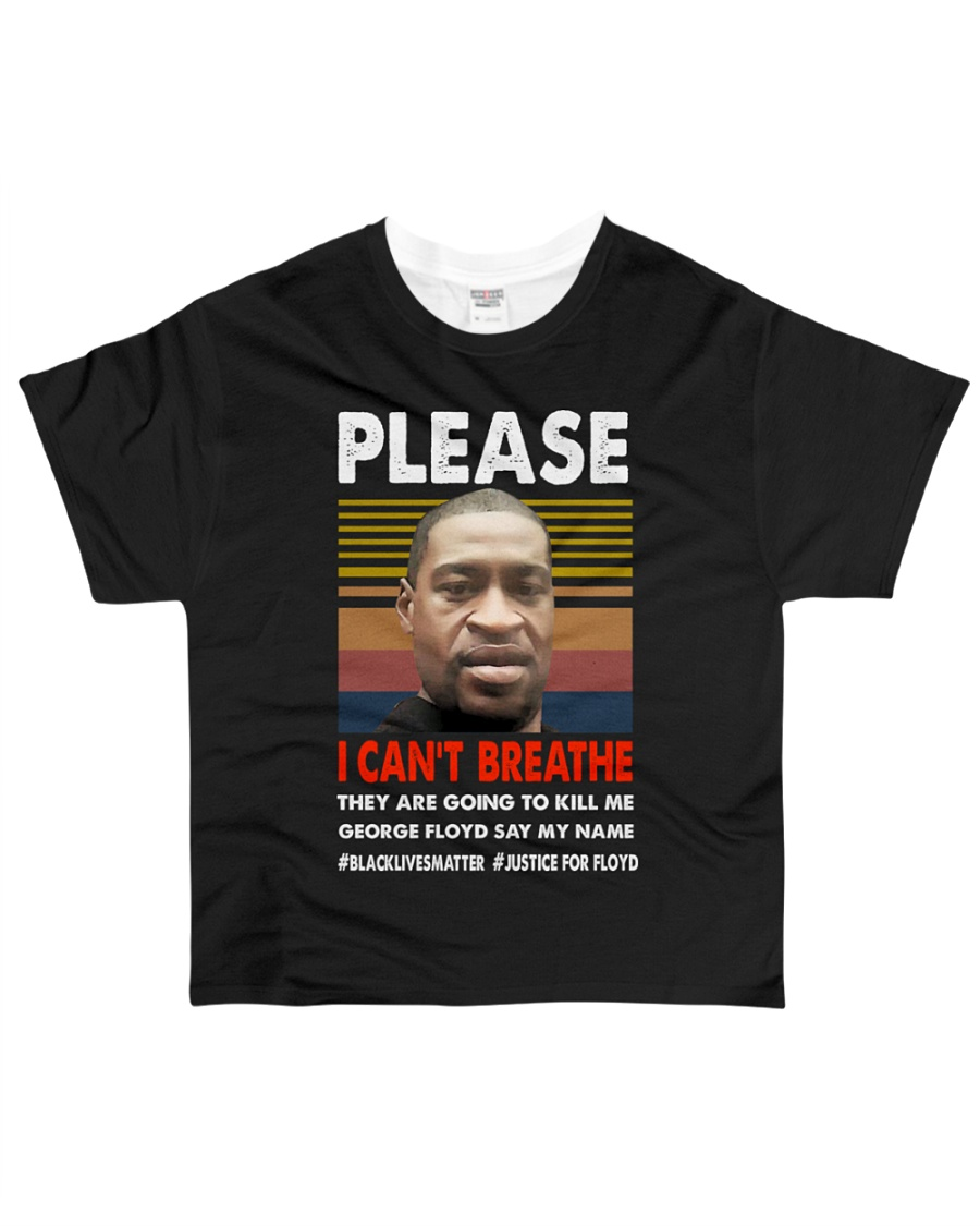 please I cant breathe 2020 black All-over T-Shirt