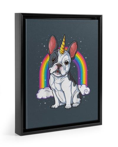 French Bulldog Unicorn Space Galaxy Frenchicorn