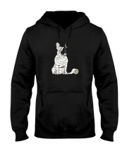 Mummy French Bulldog Hooded Sweatshirt thumbnail