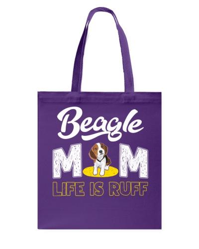 beagle mom life is ruff