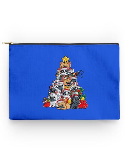 French Bulldog Christmas Tree Dog Santa Xmas Gifts