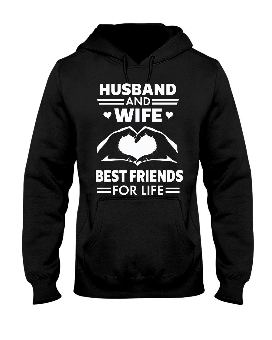 HUSBAND and WIFE FOR LIFE Hooded Sweatshirt